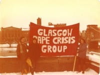 Rape Crisis group in the 1970s